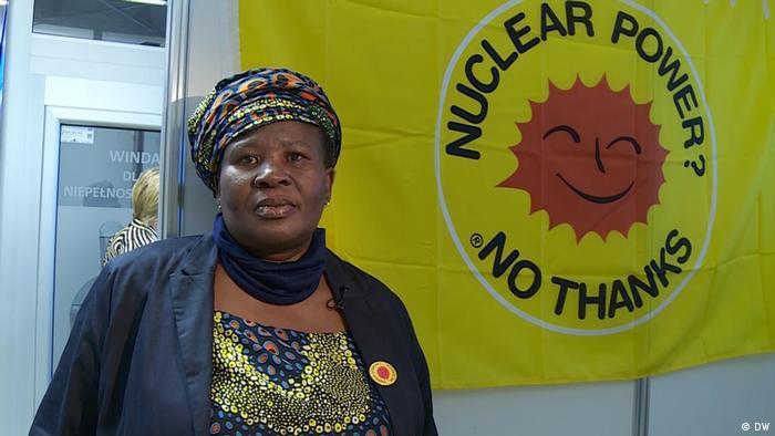 Environmental activist Makoma Lekalakala (DW).