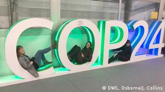 Polen, Katowice - Klimakonferenz (DW/L. Osborne/J. Collins)