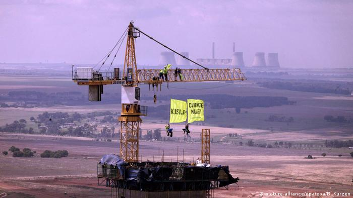 A coal power plant in Mpumalanga, South Africe