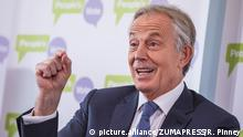 Großbritannien London - Tony Blair hält Rede zu Brexit (picture.alliance/ZUMAPRESS/R. Pinney)
