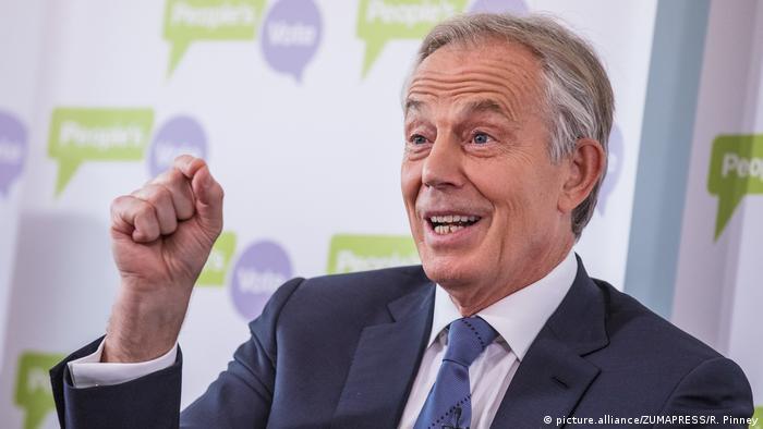Großbritannien London - Tony Blair hält Rede zu Brexit