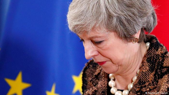 Britain's embattled prime minister, Theresa May