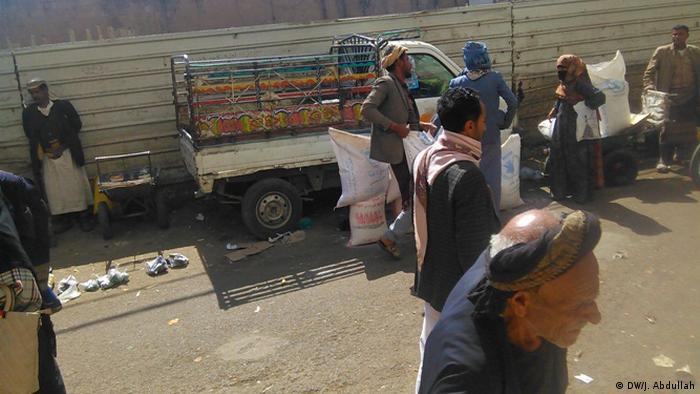 Jemen Sanaa Nahrungsmittelhilfe zum Verkauf