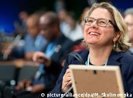 "Umweltministerin Svenja Schulze: ""Wir werden hier sehr geschätzt!"""