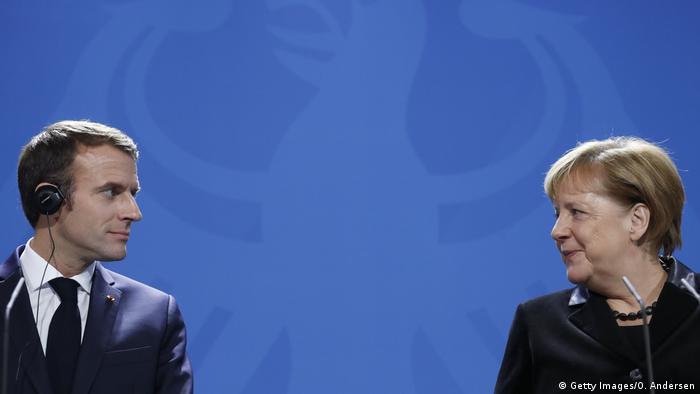 Cumbre De La Ue Lo Que Quedo De Las Reformas De Emmanuel Macron Economia Dw 14 12 2018