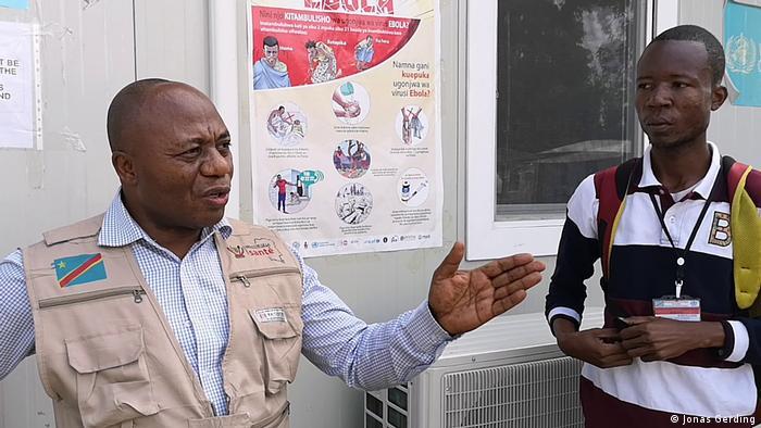 Demokratische Republik Kongo - Doktor Beni -- Aruna Abedi, lokaler Ebola-Koordinator des Gesundheitsamts in Beni (Jonas Gerding)