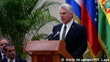 Kuba Havanna - ALBA Gipfel: Miguel Diaz-Canel