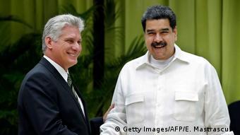 Kuba Havanna - ALBA Gipfel: Miguel Diaz-Canel und Nicolas Maduro
