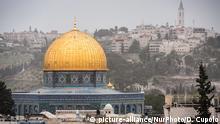 Israel Felsendom in Jerusalem
