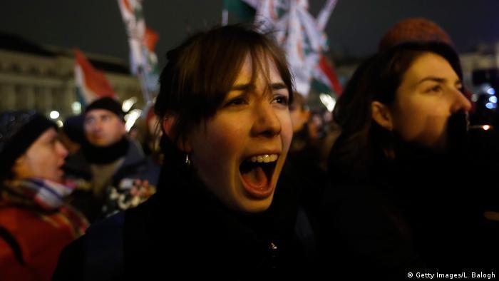 Ungarn Proteste