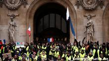Frankreich Gelbwesten-Proteste in Paris