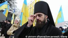 Ukraine Kiew Proklamation der unabhängigen orthodoxen Kirche