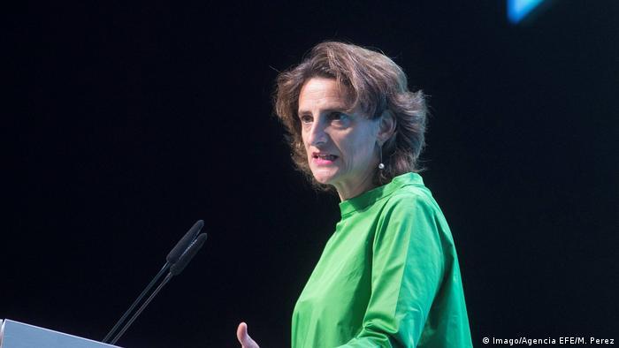 Teresa Ribera, ministra española para la Transición Ecológica y el Reto Demográfico.
