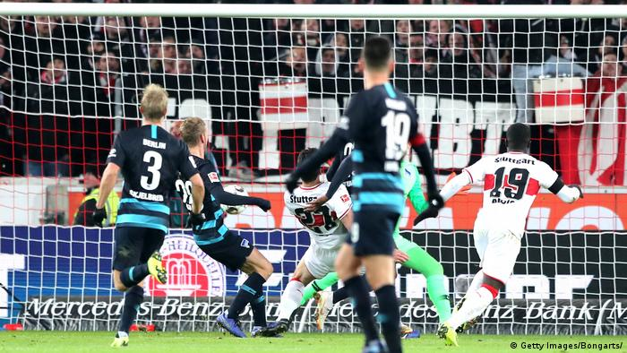 Tor Fußball Bundesliga VfB Stuttgart vs. Hertha BSC Berlin (Getty Images/Bongarts/)