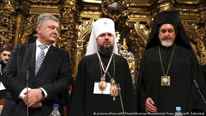 Ukraine Metropolit Epiphanius (picture-alliance/AP Photo/Ukrainian Presidential Press Service/M. Palinchak)