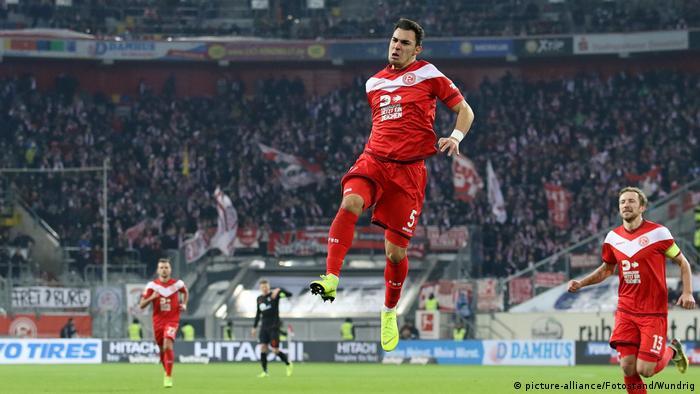 Fußball Bundesliga Fortuna Düsseldorf - SC Freiburg (picture-alliance/Fotostand/Wundrig)