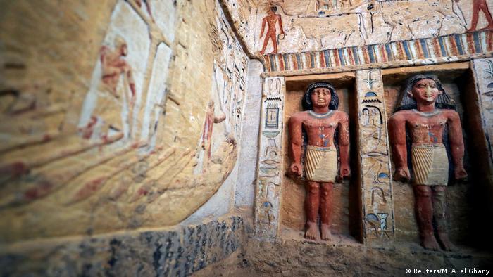 Ägypten Sakkara Entdeckung 4400 Jahre altes Grabmal