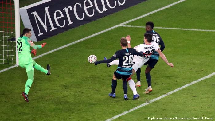 Fußball Bundesliga VfB Stuttgart - Hertha BSC Berlin (picture-alliance/Pressefoto Rudel/R. Rudel)