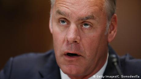 U.S. Interior Secretary Ryan Zinke testifies before the Senate Appropriations Committee's Interior, Environment, and Related Agencies Subcommittee