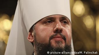 Предстоятель поместной православной церкви в Украине Епифаний
