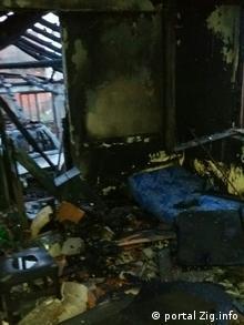 Serbien Brandanschlag auf Haus des Journalisten Milan Jovanovic