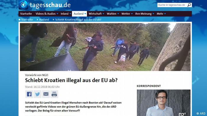 Protjeruje li Hrvatska ilegalno iz EU?, pita se njemački Tagesschau