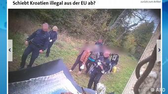 Protjeruje li Hrvatska ilegalno iz EU-a?, zapitao se i ARD (studio Beč)
