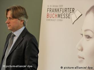 El director de la Buchmesse, Jürgen Boos.