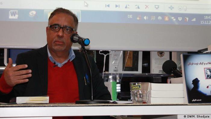 Jamsheed Faroughi Lesung in Köln (DW/M. Shodjaie)