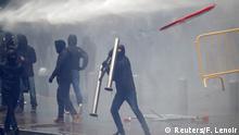 Belgien Proteste und Ausschreitungen in Brüssel