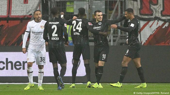 Fußball Bundesliga Eintracht Frankfurt - Bayer Leverkusen (Getty Images/AFP/D. Roland)
