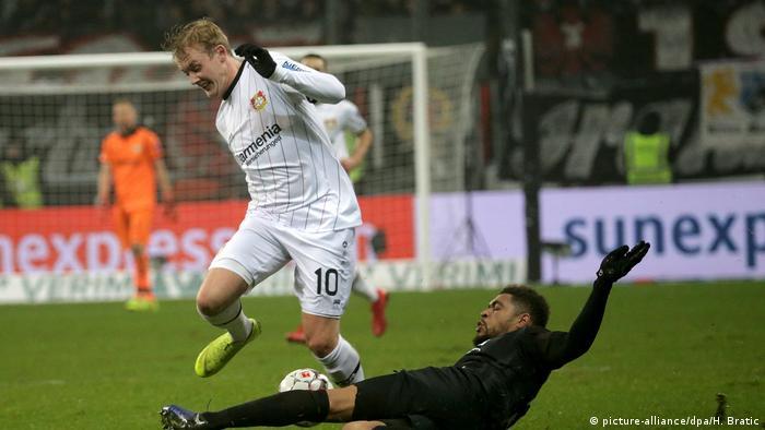 Fußball Bundesliga Eintracht Frankfurt - Bayer Leverkusen