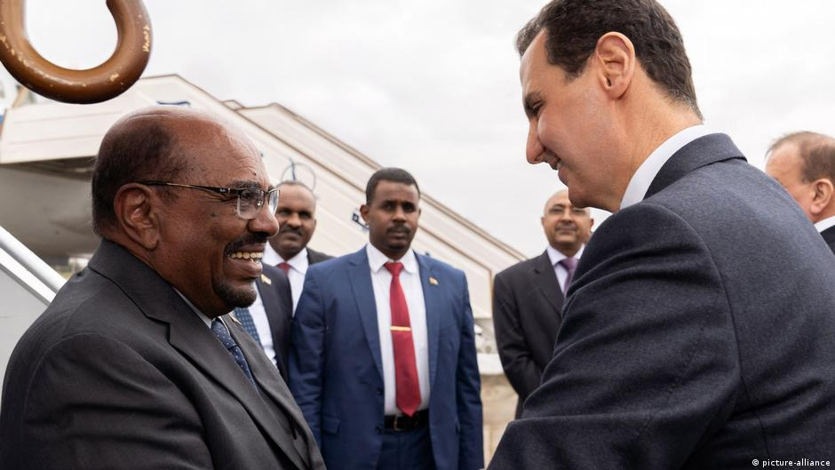 Sudan's Omar al-Bashir first Arab leader to visit Syria since 2011