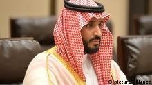 Mohammed bin Salman al-Saud ist der Kronprinz, Verteidigungsminister und stellvertretende Premierminister Saudi-Arabiens