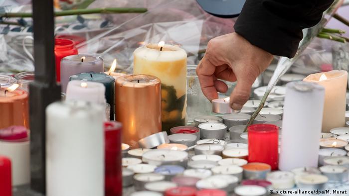 Memorial for Strasbourg attack