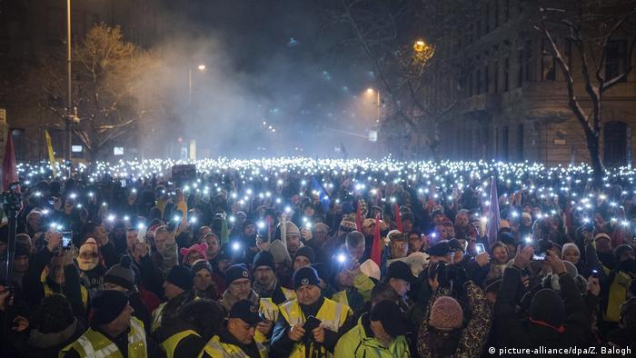 Tisuće prosvjednika u Budimpešti
