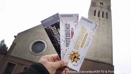 Christmas church service tickets in Essen