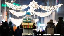 Weihnachtsbeleuchtung und Märkte weltweit Wien Österreich