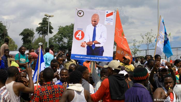 DR Kongo Wahlkampf Martin Fayulu