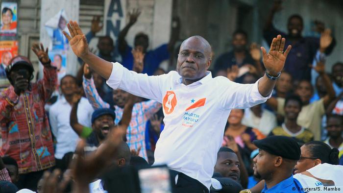 DR Kongo Wahlkampf Martin Fayulu (Reuters/S. Mambo)