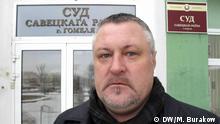 Dezember 2018, Weissrussland Menschenrechtler Leonid Sudalenko