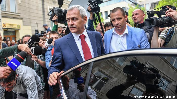 Rumänien Liviu Dragnea, Vorsitzender der Sozialdemokratischen Partei