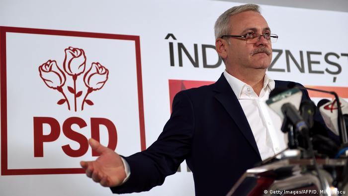Liviu Dragnea, head of the Social Democratic Party