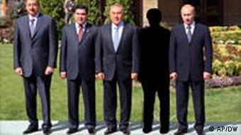 در ديدار سران كشورهاي حوزه درياي خزر دراكتبر ۲۰۰۷ احمدى نژاد حضور نداشت