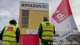 Забастовка в немецких филиалах Amazon в 2018 году