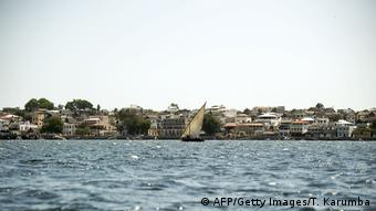 Lamu town seen from the see