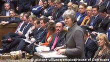 Großbritannien Theresa May, Premierministerin | im House of Commons