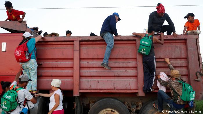 La última gran ola de migrantes se dio este año en Centroamérica. La violencia y el hambre están haciendo que la gente escape de Honduras, Nicaragua, El Salvador y Guatemala. Su destino final es Estados Unidos.