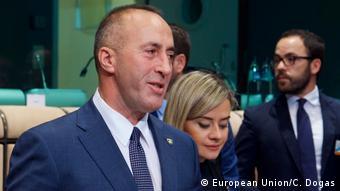 Brüssel EU | Gespräche Verhältnis EU - Kosovo (European Union/C. Dogas)