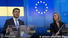 Ministerpräsident der Ukraine in Brüssel